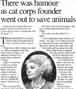 """Passages"" Times Colonist newspaper tribute to Thora Bonneau,  Feb. 1999"